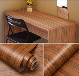 Пвх мебельная пленка онлайн-New Thick white wood grain stickers Boeing film pvc waterproof self-adhesive wallpaper wardrobe cabinet old room door furniture