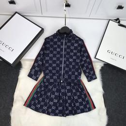 los niños que arropan los niños ropa de niñas capa de la chaqueta de vestir falda de los sistemas 2pcs ** 5d1dbdd96f617014d8b988ab desde fabricantes