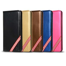 rainbow wallet case Promo Codes - Multifunction Suck Magnetic Leather Wallet Case For Samsung S10 M30 M20 M10 A70 A60 A50 A40 Rainbow Closure Cover Holder Frame ID Card Slot