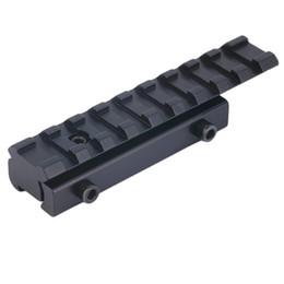 Weberbasis online-11mm bis 20mm Schwalbenschwanz zu Weaver Rail Mount Base Adapter Zielfernrohrmontage Konverter Laser Sight