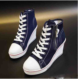 100379bb72b Shop Elevator Wedge Shoes Sneakers UK | Elevator Wedge Shoes ...
