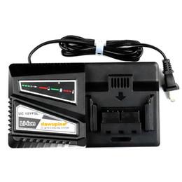 batería hitachi Rebajas Taladro eléctrico Destornillador Accesorio UC18YSFL Li-ion Cargador de batería Corriente de carga 4.5A para Hitachi 14.4V 18V Serie Herramienta