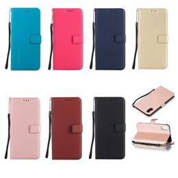 Mini caja del teléfono galaxy s4 online-Flip Wallet Case para Samsung Galaxy S3 S4 S5 S6 S7 S8 S9 S10-5G Lite edge Plus mini funda de cuero con tapa para teléfono