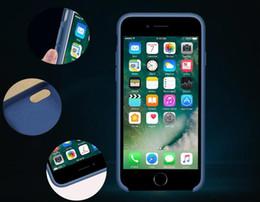 Сверхвысокое качество iPhone силиконовый чехол для мобильного телефона с логотипом с коробкой для iPhone 7 8 Plus мобильный телефон силиконовый чехол для Iph supplier iphone mobile phone boxes от Поставщики мобильные телефоны iphone