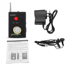 Argentina CX307 + Detector de errores de señal inalámbrico Cámara antirretorno Eavesdropper Privacidad Protector GPS Finder Tracker 1MHz-6500MHz 8mA Suministro