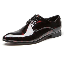 48fab73d4 28-68 sapatas de vestido homens de couro verão elegante social dress designer  de sapatos de escritório homens # MSW8118116 desconto vestido 68