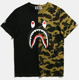 Bape camiseta qualidade on-line-XXSBAPE vender bem Designer T Shirt Das Mulheres Dos Homens de Alta Qualidade T Shirt Preto Branco Dos Homens Em Torno Do Pescoço de Algodão Casual T-S S-2XL