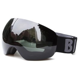 clear ski goggles Coupons - Wholesale- Winter Anti-fog Ski Goggles Skiing Eyewear Ski Glasses Snowboard Snow Goggles Windproof Glasses Adult Snowing Eye Protection P15