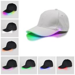 LED leuchtende Baseballmützen leuchtendes LED-Licht Partykappe verstellbare Hysteresenhüte Leuchtende Partyhüte Zubehör von Fabrikanten