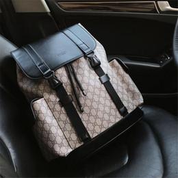 Mochila de diseño para hombres y mujeres Mochila de lujo de cuero auténtico Nuevos bolsos de escuela de moda desde fabricantes