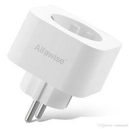 Design compatto Smart Plug Mini WiFi Socket Standard europeo White Support Alexa Google Home Voice Control da