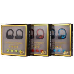 Bluetooth TWS W3 двойное ухо беспроводные наушники блютуз ухо висит реальный стерео 5.0 бас висит ухо блютуз гарнитура автомобиль от Поставщики бить наушники