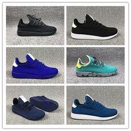 Adidas tennis hu 2019 Nouvelle Arrivée Originaux Pharrell Williams Tennis Hu Chaussures stan smith 3D Primeknit Sport Mode Femmes hommes PW Course