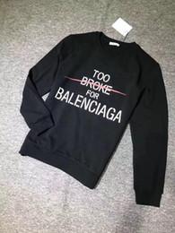 pullover klassiker herren Rabatt Großhandel 2019 Frühjahr / Herbst Herren Paris Mode Atelier Print Baumwolle Sweatshirt Classic Luxury Designer Pullover Jumper Top