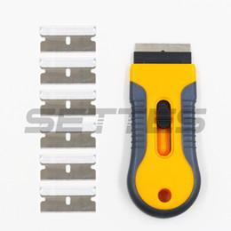 9pcs Silicone Angle Grattoir calfeutrage verre Pelle Pelle Kit De Nettoyage Outil Set