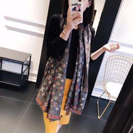 2019 brand pashmina Горячая марка женщины Шарфы Высокое качество кашемир классический плед дизайнер кашемировый шарф мода толстый кашемир шаль Pashmina 90x180 см коробка сумка дешево brand pashmina
