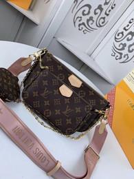 M44813 lujo 5A L Moda de cuero bolso para los bolsos de las mujeres Classic V señoras de bolsos del mensajero bolso único monedero # 6083 desde fabricantes