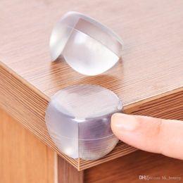 protezioni bordo mobili Sconti Protezione del bambino Protezione del silicone Protezione dell'angolo del tavolo Coperchio della protezione dei bambini Anticollision Edge Guardie per mobili