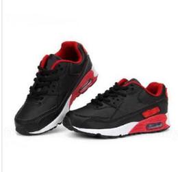1.5 zapatos casuales de niños online-2019 venta caliente de la marca niños zapatos deportivos ocasionales niños y niñas zapatillas de deporte zapatillas de deporte para niños zapatos de colchón de aire zapatillas deportivas