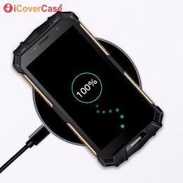 Accessoires doogee en Ligne-Chargeur sans fil pour Doogee S60 S70 S90 Chargeur Rapide Pad De Mode Téléphone Accessoire Cas Pour Doogee S60 Lite Qi Chargeur Sans Fil