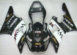 2019 99 yzf r1 carenados 3 regalos gratis Nuevos kits de carenado ABS aptos para YAMAHA YZF-R1 98 99 YZF1000 1998 1999 R1 carenados conjunto de carrocería personalizado West rebajas 99 yzf r1 carenados