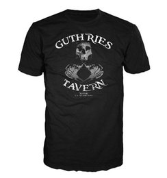 sailing shirts Coupons - GUTHRIES TAVERN TSHIRT, BLACK SAILS inspired, PIRATE, GAME OF THRONES, TV Colour Jersey Print T Shirt Jacket Croatia Leather Tshirt
