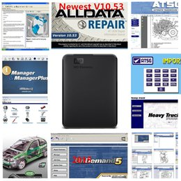 Taller de toyota online-2019 Alldata y mitchell soft-ware 1TB reparación de automóviles soft-ware alldata 10.53 y mitchell 2015 Vivid workshop atsg 49 en 1tb hdd