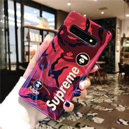 Novos telefones samsung para on-line-Designer de 2019 nova moda marca phone case para samsung s10 / s10 plus / s10e popular capa protetora de luxo tampa do telefone case 6 estilos
