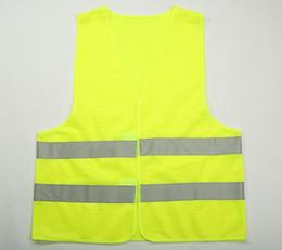 Жилет одежда трафик мотоцикл ночной гонщик зелено-желтый безопасности безопасности видимости светоотражающие Велоспорт спорта на открытом воздухе от