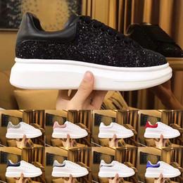 Damen kleiderschuhe online-Samt schwarz Mens Womens Chaussures Schuh schöne Plattform lässig Turnschuhe Luxus Designer Schuhe Leder Volltonfarben Kleid Schuhgröße 45