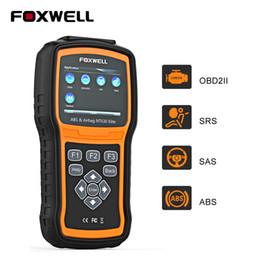 Canada Foxwell NT630 Elite OBD2 Outil de diagnostic ABS Coussin gonflable SRS SAS Lecteur de code de voiture Code de voiture OBD 2 Scanner automobile Offre