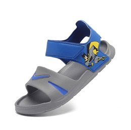 Princesa de goma online-2019 baby9999 Sandalias para niños Patrón de verano Zapatos para niños Magia Suave prenda inferior de goma Princesa envío gratis # 261