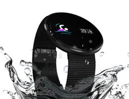 Canada Pour apple iphone CF006H Montre-bracelet intelligente LCD Écran Couleur Sport Podomètre Calories Fitness Tracker Moniteur de Fréquence Cardiaque pk fitbit id115 Offre