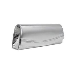 Uma alça de ombro sacos on-line-Um ombro das mulheres cinta saco de embreagem Crossbody cor sólida festa à noite saco de embreagem Croco textura Handbag