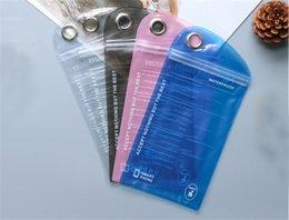 sacchetto di imballaggio al dettaglio impermeabile Sconti Custodia impermeabile trasparente tocco di telefono impermeabile Custodia impermeabile Wimming Diving pacchetto di vendita al dettaglio per Iphone Samsung Mobile Cell Phone ID Card