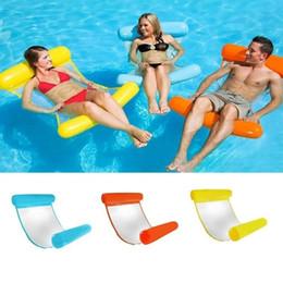 Flotteurs de piscine en Ligne-Partie flottante de lit de flottement de chaise longue de flotteur d'hamac de piscine gonflable