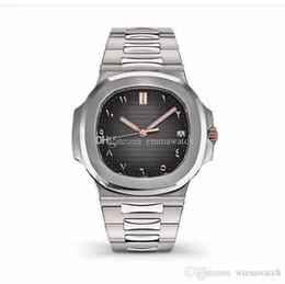 Relojes de banda digital online-Relojes de lujo 41 MM Movimiento automático Relojes para hombres Relojes de pulsera de alta calidad para hombres Dial ovalado Banda de acero inoxidable Transparente Volver
