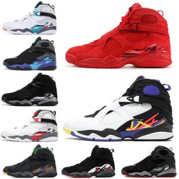 d421c44dd19 Basketball Shoes 8 8s for men Valentines day Aqua Chrome Countdown Pack  SOUTH BEACH PLAYOFF Mens Trainer Sports Sneaker 7-13 discount aqua 8s