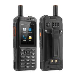 mtk6572 desbloqueo de doble núcleo Rebajas Uniwa Alps F40 Teléfono móvil Zello Walkie Talkie IP65 Impermeable FDD-LTE 4G GPS Smartphone MTK6737M Quad Core 1GB + 8GB Celular