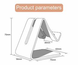 2017 Universal Metal de alumínio Mobile Phone Tablet suporte Desk Suporte para Smart Celular para Kindle Ebook de