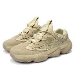 5b172ecb43e Coconut 500 2018 Tamanho 39 ~ 48 Mens Sapatos Casuais 2018 Verão  Confortável Respirável Sapatos de Malha Oco Moda Meninos Tenis Sapatos  Krasovki Para O ...