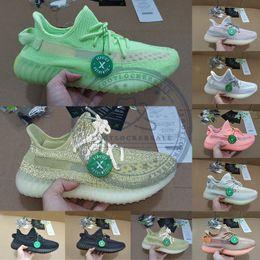 2019 zapatos brillantes para hombre Talla 13 con Stock X Box Glow In Dark Antlia Zapatillas reflectantes para correr Lundmark Clay Black Static Hombres Zapatillas de deporte de diseño para mujer zapatos brillantes para hombre baratos