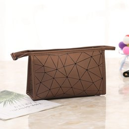 wholesale custom pouch cosmetic bag Coupons - beauty pouch custom logo pu makeup cosmetic bag for women