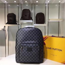 2019 polka dot buttons großhandel Designer Rucksack Herren Luxus Rucksack Berühmte Marke Doppel Umhängetaschen Männliche Marke Schultaschen Leder Umhängetasche