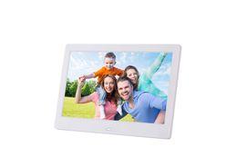 """10.1 """"HD LED электронный альбом цифровая фоторамка семейная свадьба день рождения бизнес подарок от Поставщики фоторамка белый экран"""