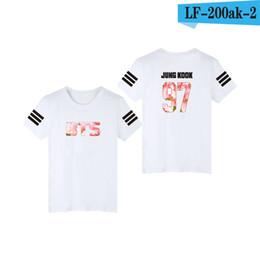 d83a3936ea7 2019 BTS Clothes Pattern Time Album SUGA Bulletproof Youth League Same Short -sleeved T-shirt Should Aid Women s Summer Dress