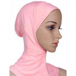 2019 mütze für muslimische frauen Frauen Muslim Caps Cotton Full Cover Hat Inner Hijab Schädel Beanie Islamische Hüte günstig mütze für muslimische frauen