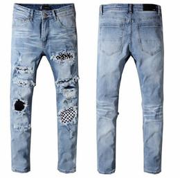 Justin bieber moda calças on-line-novos 2018 justin bieber calças slim Streetwear Marcas calças chris calças Tyga marrom moda skate magro Zipper Jean Pnats