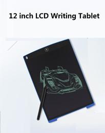 2019 12 comprimidos Tableta de dibujo digital ultra delgada de 12 pulgadas LCD Tablero de dibujo Tablero de dibujo Tablero gráfico electrónico Tabletas gráficas Tabletas de dibujo Tableta de dibujo digital rebajas 12 comprimidos