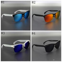 Открытый очки Frogskin 4 цвета Велоспорт очки Поляризованные солнцезащитные очки Мужские спортивные солнцезащитные очки Полукадровые очки ZZA366 от